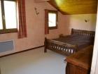 Les Eglantines - Meublé duplex J : la chambre 3
